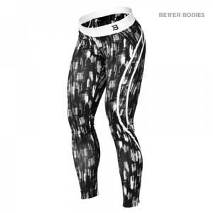 Bilde av Better Bodies Manhattan Tights - Black/white L - 1 STK