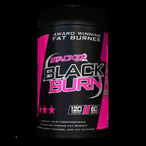 Bilde av Stacker2 Black Burn 120 kapsler