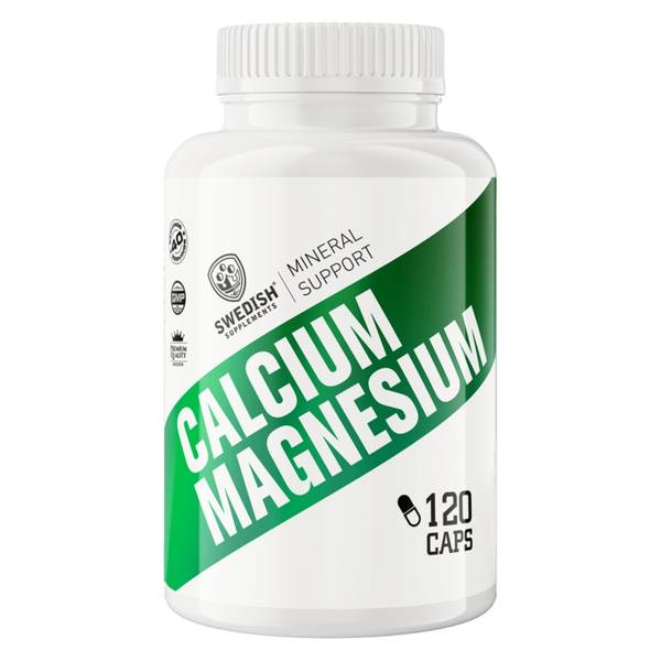 Calcium+Magnesium 120 kapsler